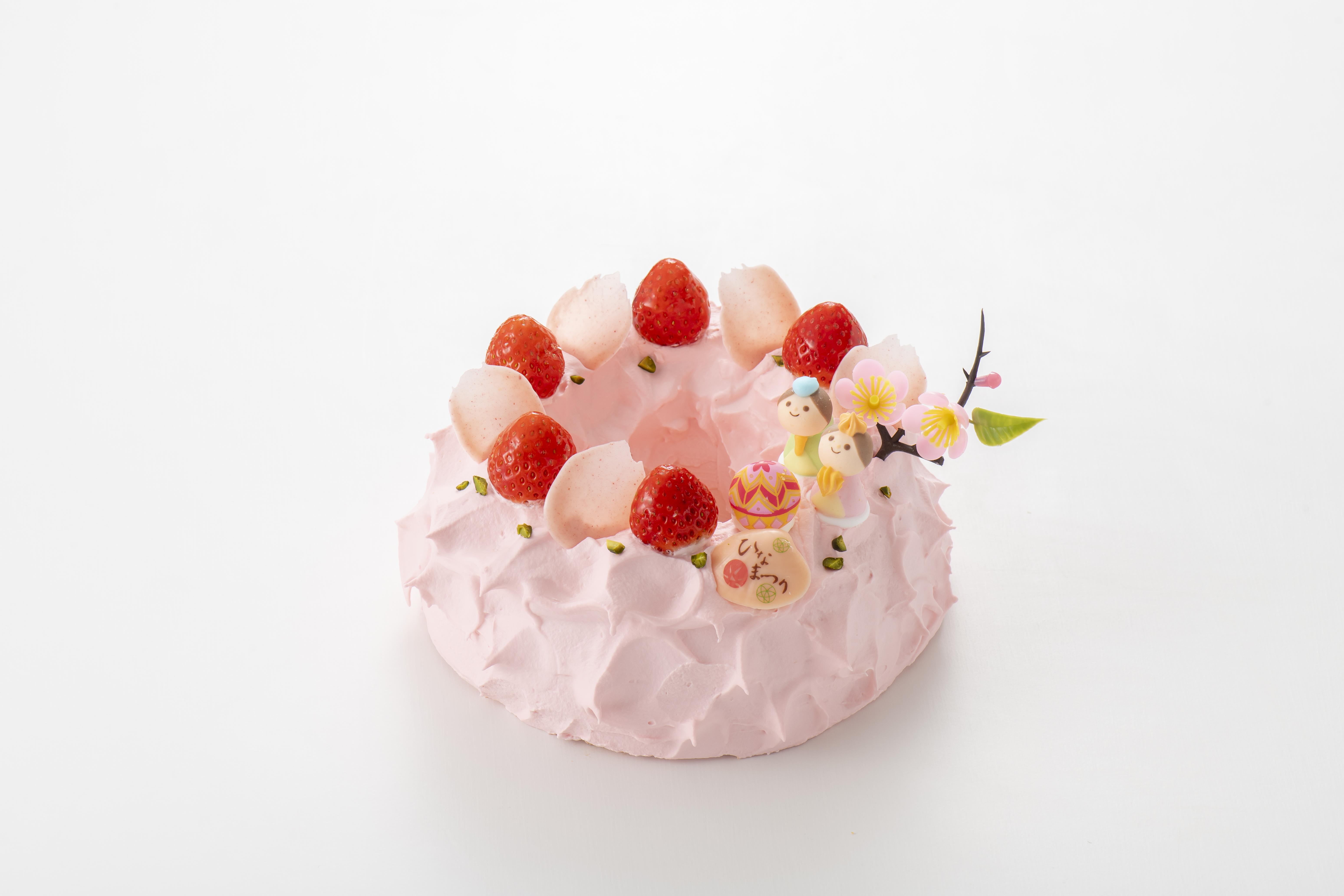 2021 ひな祭り ケーキ